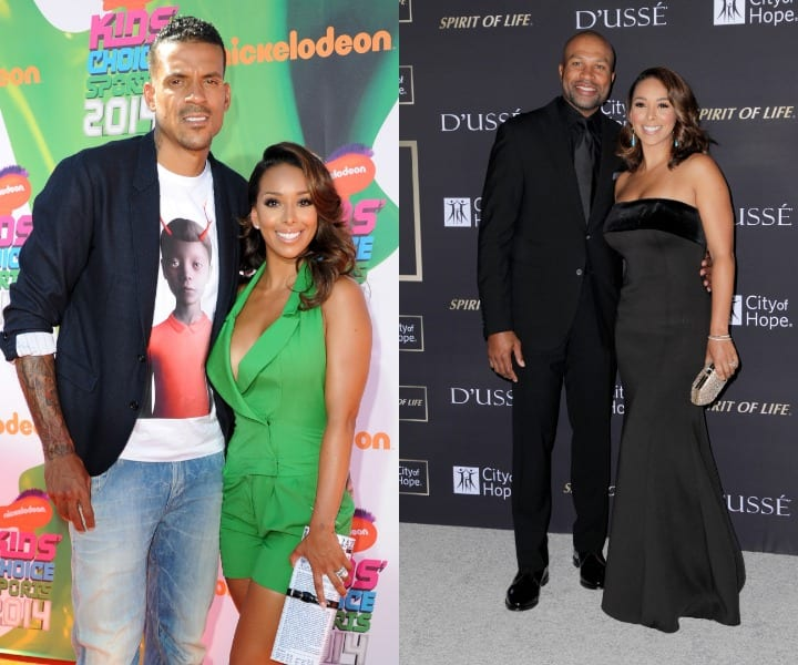 Matt Barnes, Derek Fisher, wives