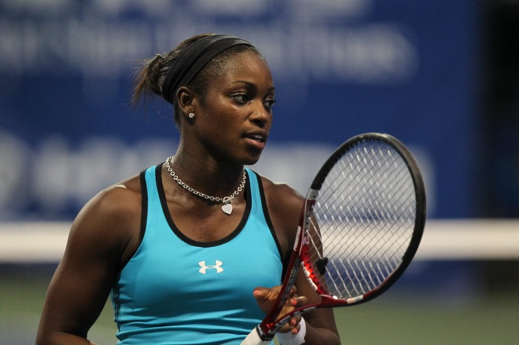 Sloane Stephens at Citi Open Tennis July 30, 2011