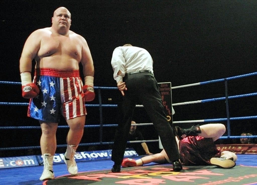 BOXING-BRITAIN-BUTTERBEAN