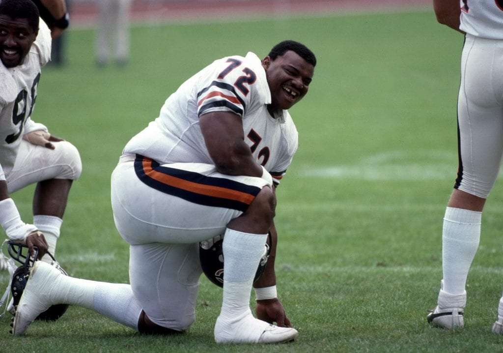 "William ""The Refrigerator"" Perry with theChicago Bears"