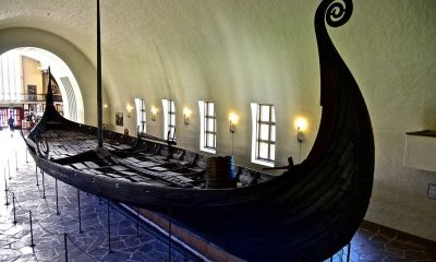 preserved viking ship