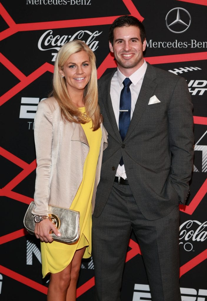 Samantha Steele and NFL player Christian Ponder