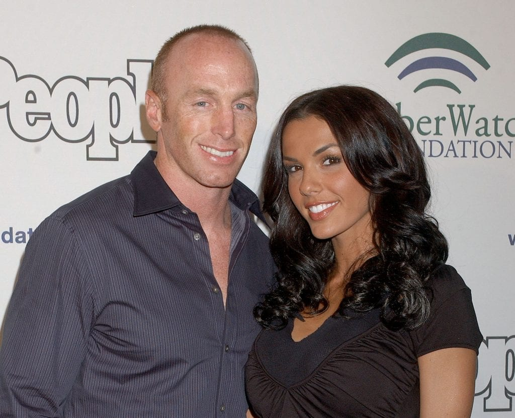 Jeff Garcia and Carmella Decesare