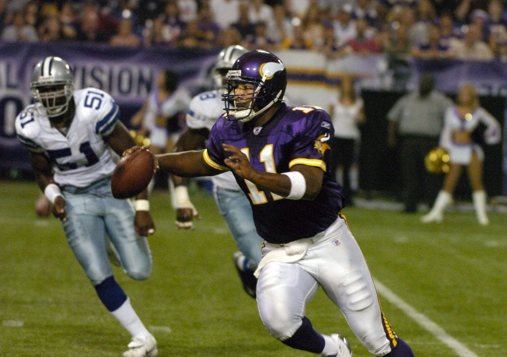 Dallas Cowboys vs Minnesota Vikings - September 12, 2004