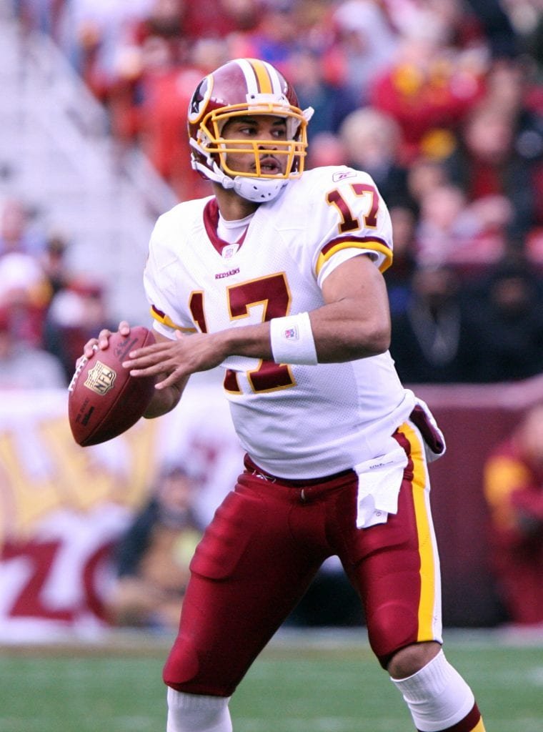 Forgotten quarterback Jason Campbell