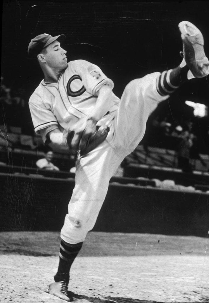 Bob Feller Ready To Pitch