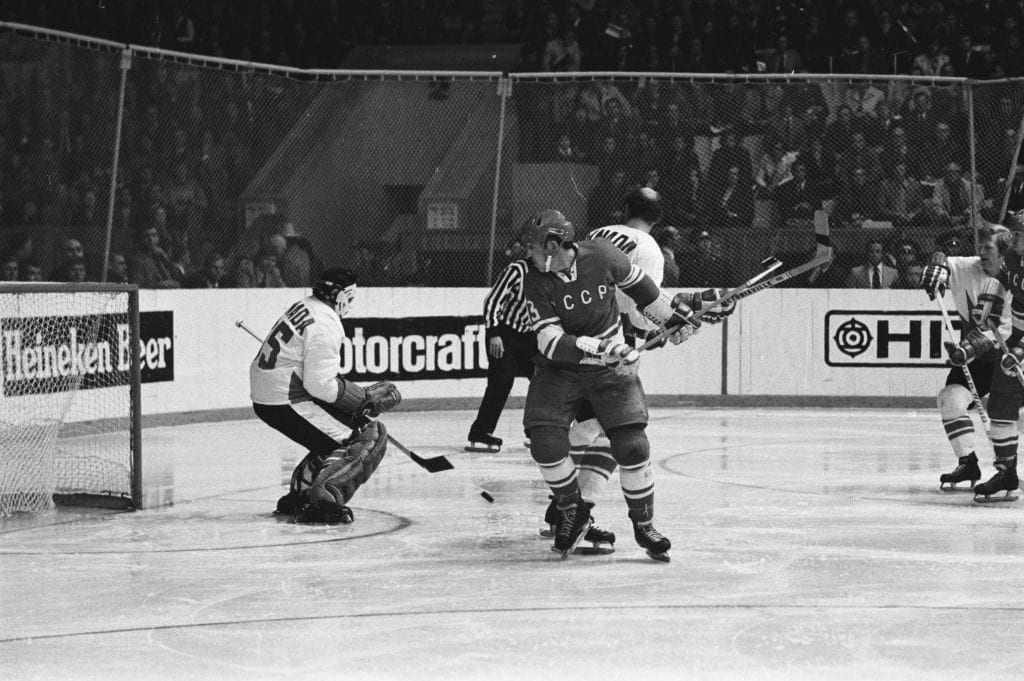 1972 Summit Series: Team Canada v Team USSR