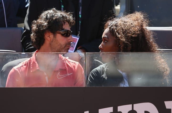 serena williams alexis ohanian facts
