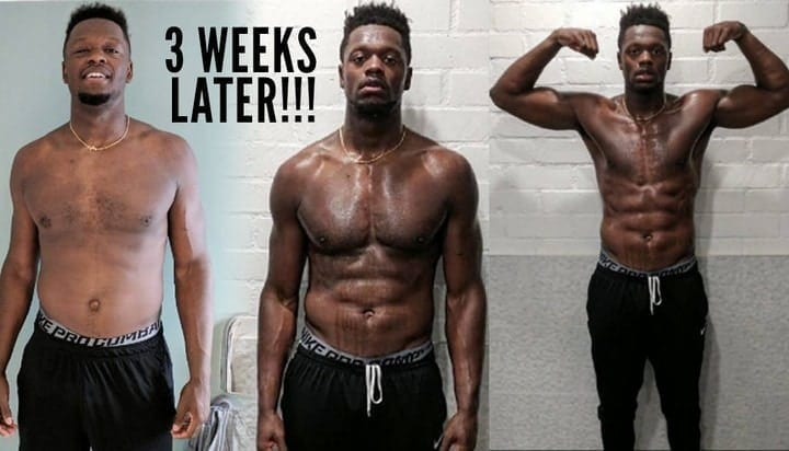 athlete transformation
