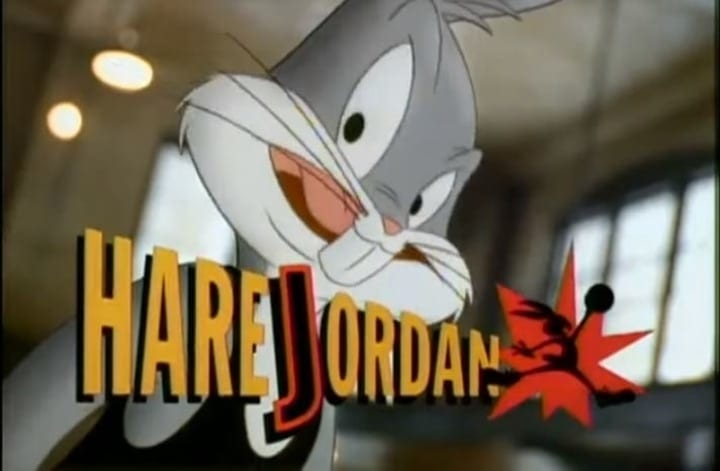 air jordan commercial bugs bunny