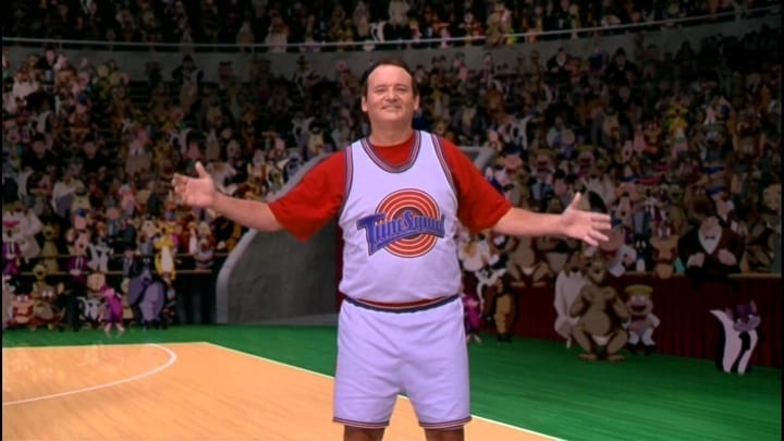 bill murray space jam