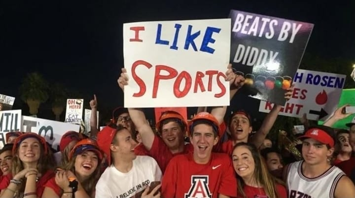 funny college gameday signs