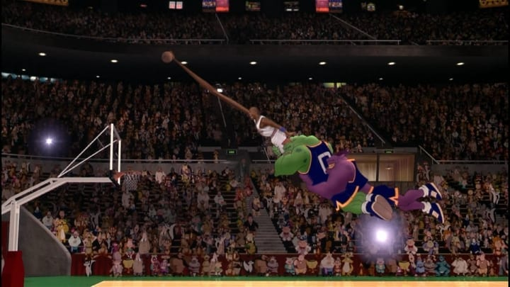 michael jordan dunk space jam