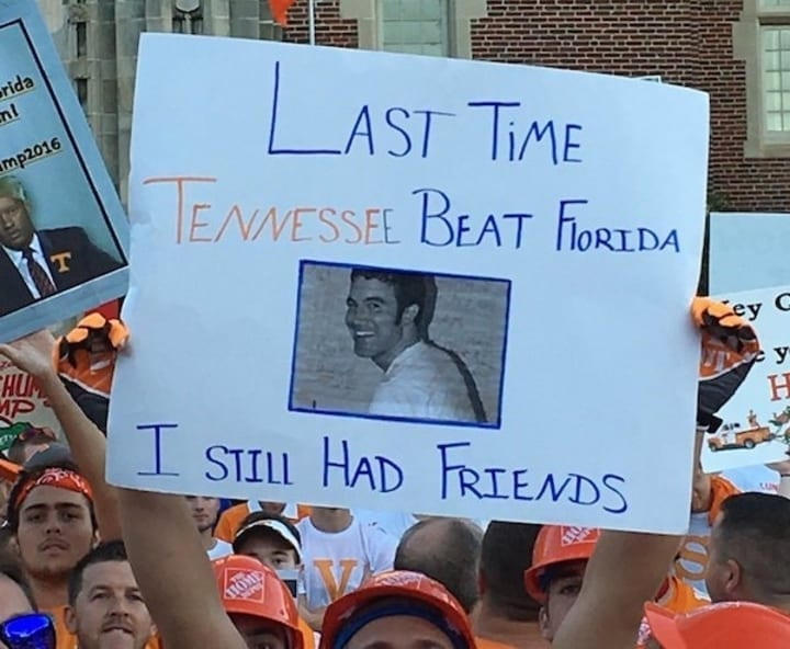 myspace tennessee college football sign