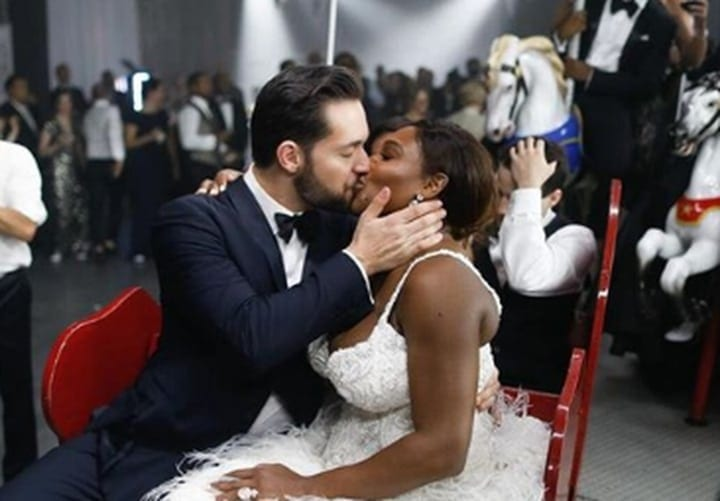serena williams alexis ohanian wedding