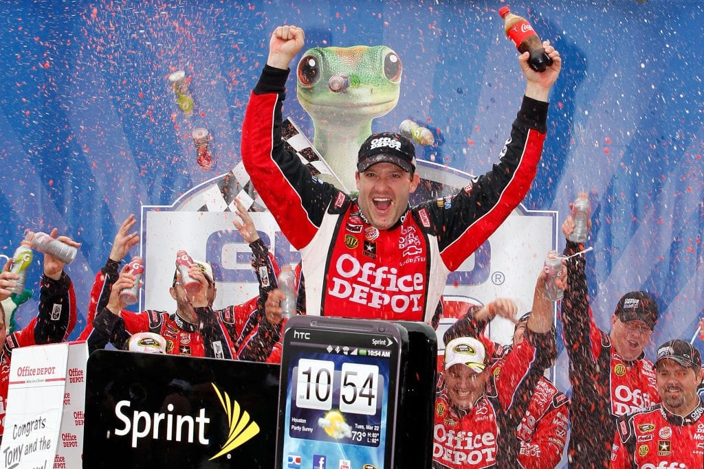 Tony Stewart, driver of the #14 Office Depot/Mobil 1 Chevrolet