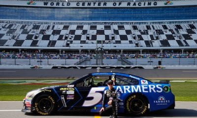 Kasey Kahne, driver of the #5 Farmers Insurance Chevrolet