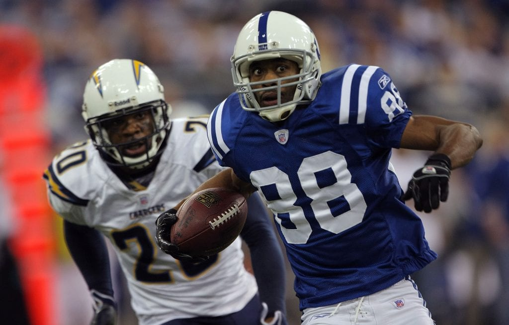 Marvin Harrison #88 of the Indianapolis Colts