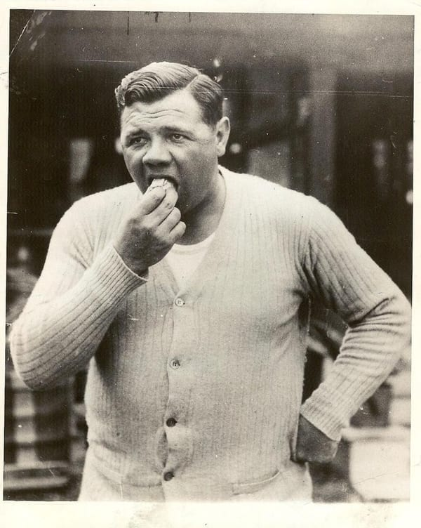 babe ruth hot dogs