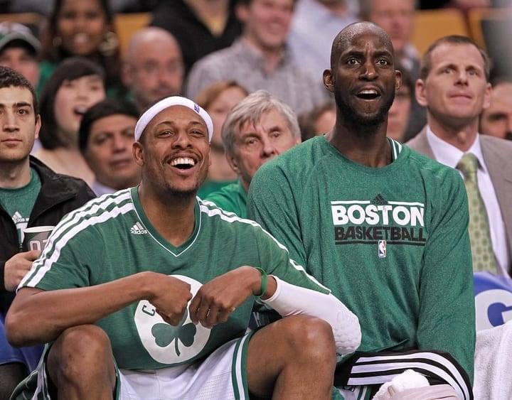 boston celtics pbj kevin garnett paul pierce