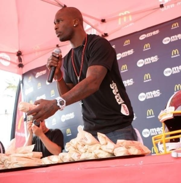 chad ochocinco mcdonalds
