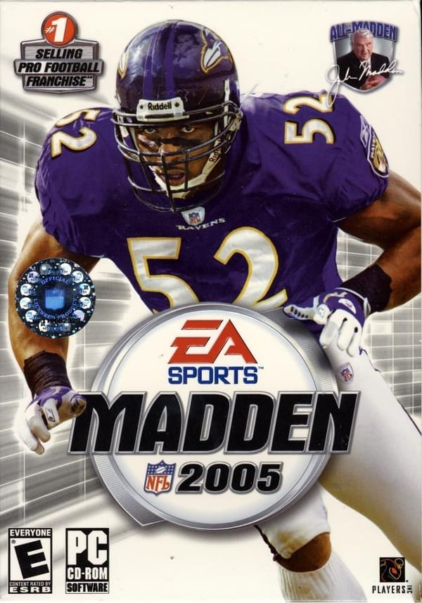 madden 2005 video game
