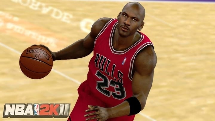 nba 2k11 michael jordan video game