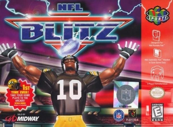 nfl blitz video game