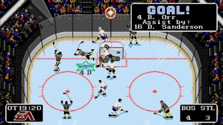 nhl 94 video game