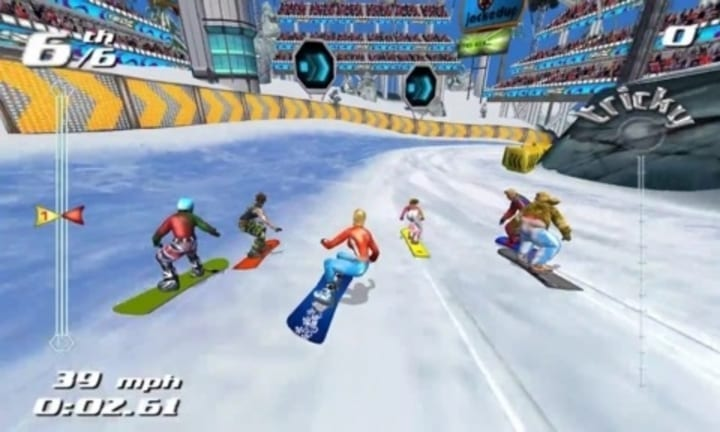ssx tricky video game