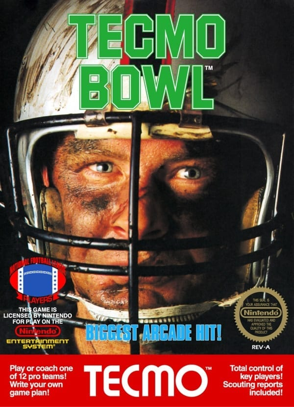 tecmo bowl video game