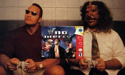 the rock mick foley