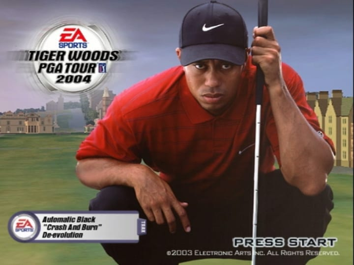 tiger woods pga tour 2004 video game