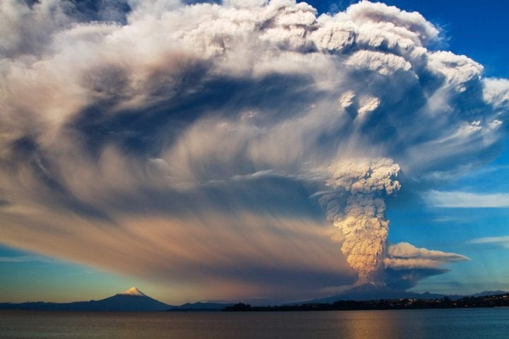 After 42 years sleeping, Calbuco Volcano woke up. I was so happy and shocked to be there when it started.