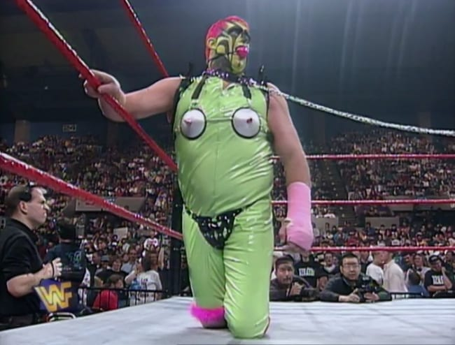 weird wrestling wardrobes