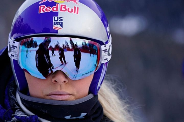 CORTINA D'AMPEZZO, ITALY - JANUARY 19 : Lindsey Vonn of USA inspects the course during the Audi FIS Alpine Ski World Cup Women's Downhill on January 19, 2019 in Cortina d'Ampezzo Italy. (Photo by Francis Bompard/Agence Zoom/Getty Images)