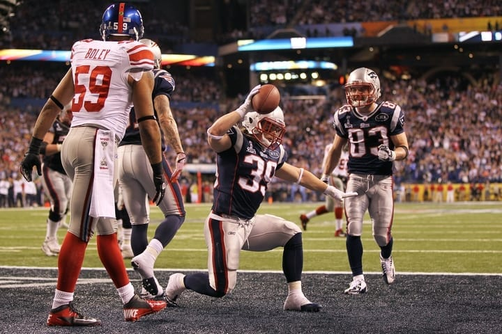 danny woodhead patriots running back