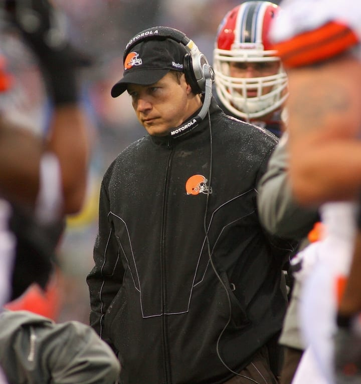 eric mangini cleveland browns coach