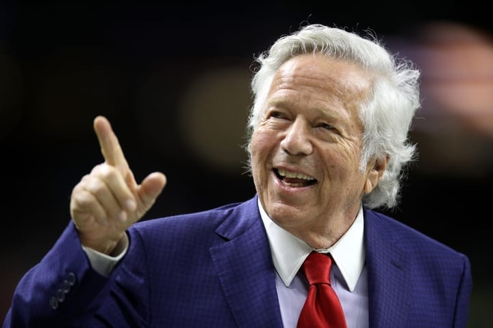 robert kraft new england patriots owner