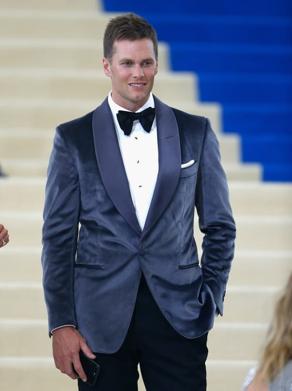 tom brady model fashion