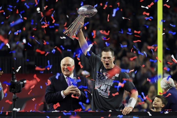 tom brady patriots super bowl champion