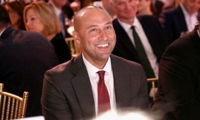 NEW YORK, NY - DECEMBER 03: MVP Derek Jeter attends the Muscular Dystrophy Association Celebrates 22 Years Of Annual New York Muscle Team Gala With MVP Derek Jeter And More on December 3, 2018 in New York City. (Photo by Brian Ach/Getty Images for Muscular Dystrophy Association)