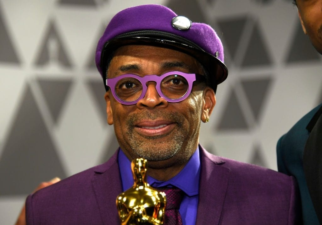 HOLLYWOOD, CALIFORNIA - FEBRUARY 24: (L-R) Spike Lee, winner of Adapted Screenplay for ''BlacKkKlansman,' attends the 91st Annual Academy Awards Governors Ball at Hollywood and Highland on February 24, 2019 in Hollywood, California. (Photo by Kevork Djansezian/Getty Images)