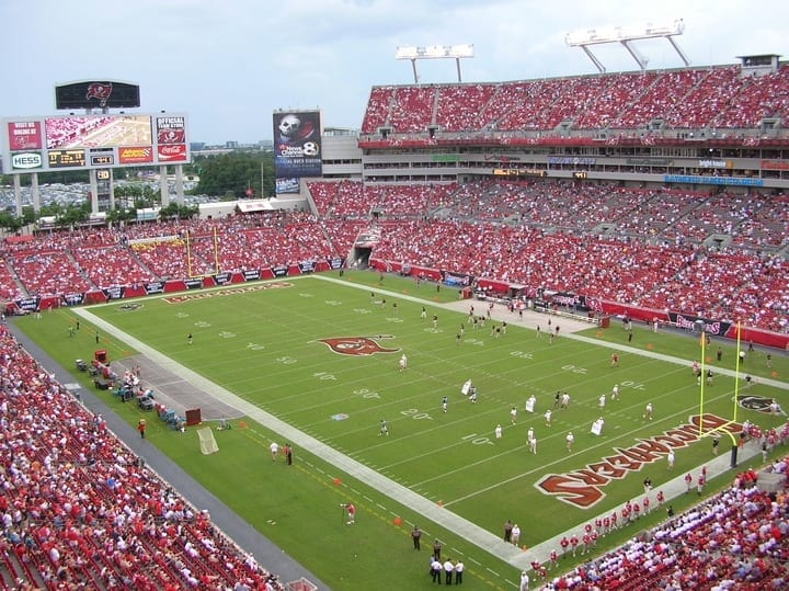 Raymond James Stadium tampa bay buccaneers
