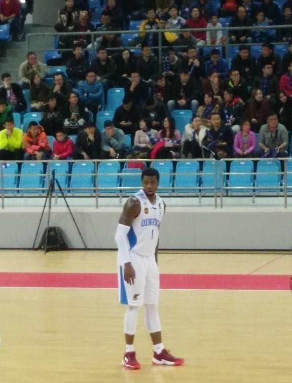Terrence Jones Chinese Basketball Association