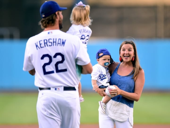 clayton kershaw wife kids