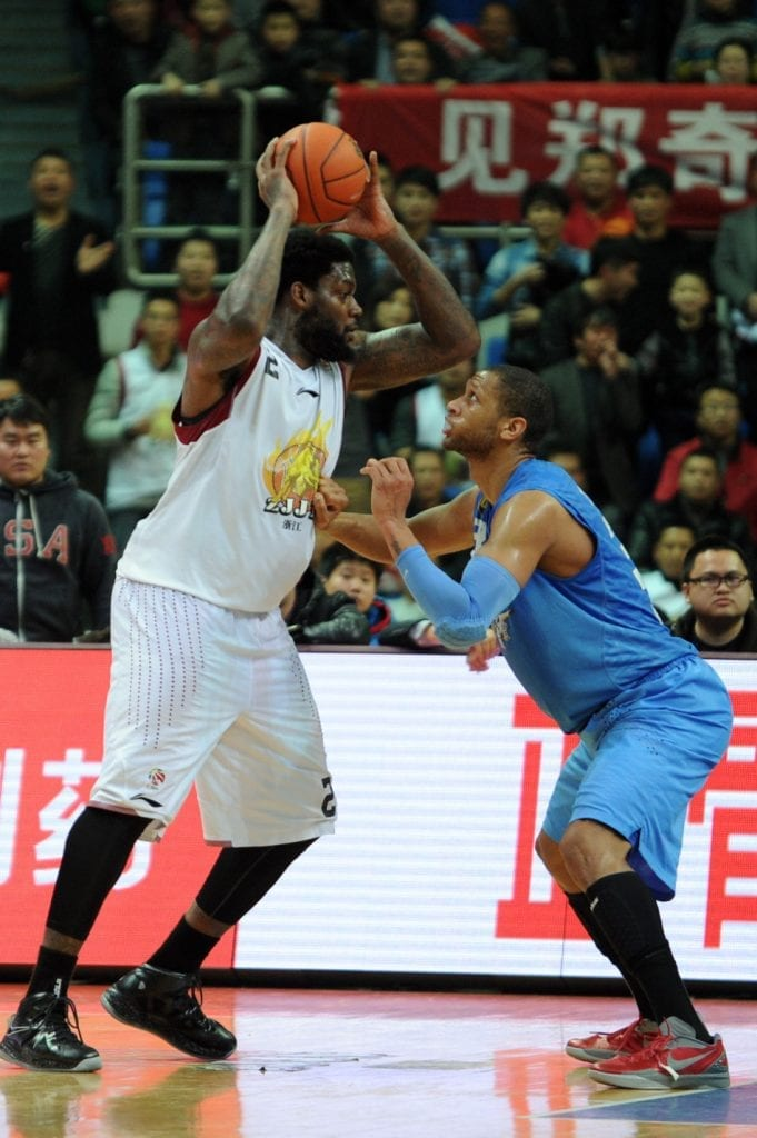 Eddy Curry Chinese Basketball Association