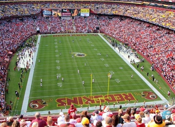 fedexfield washington redskins