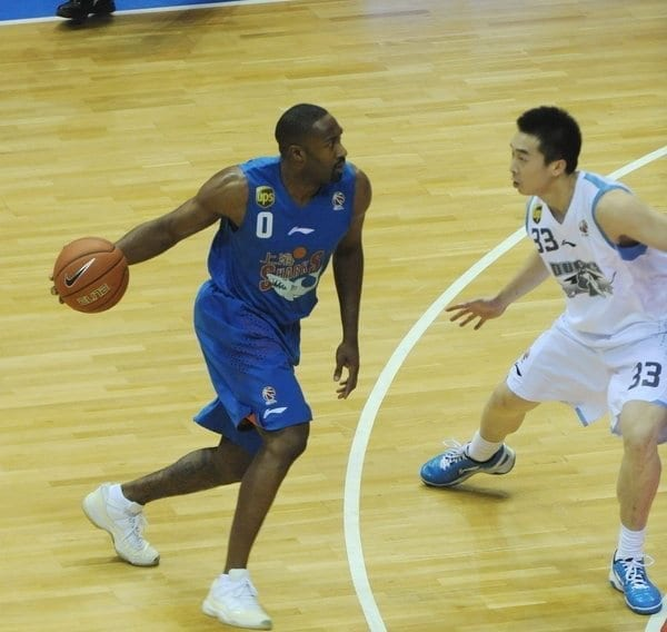 Gilbert Arenas Chinese Basketball Association