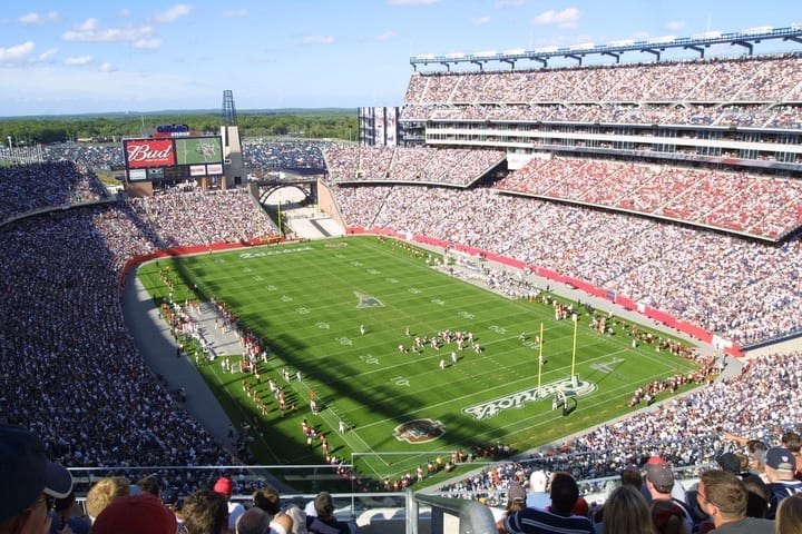 gillette stadium new england patriots